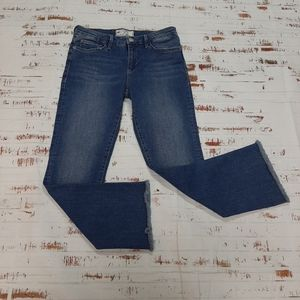 Free People highrise crop flare jeans